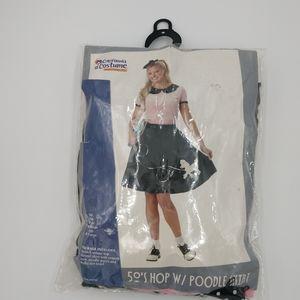 50s Hop poodle skirt costume